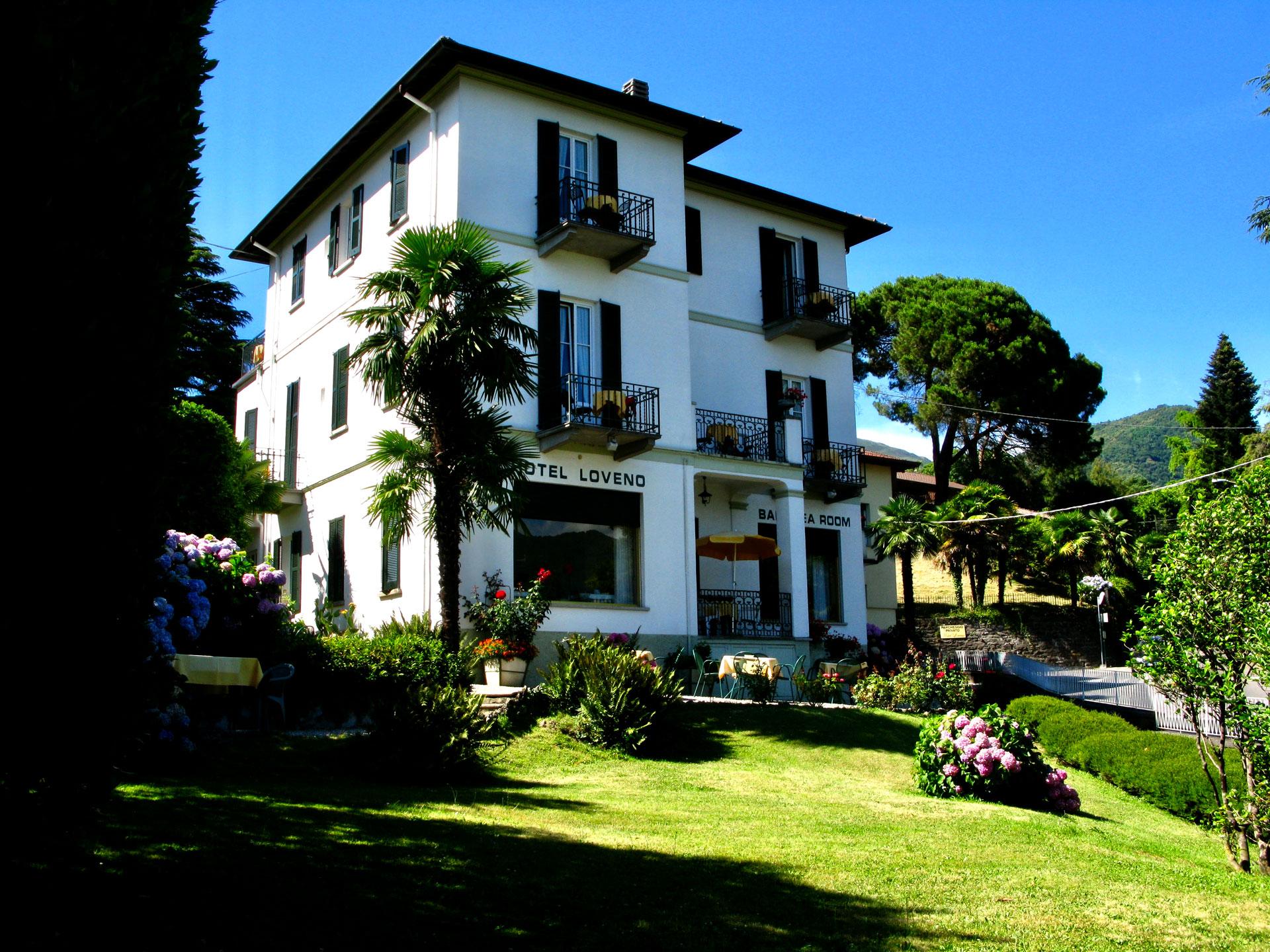 Hotel Loveno Lake Como Italy