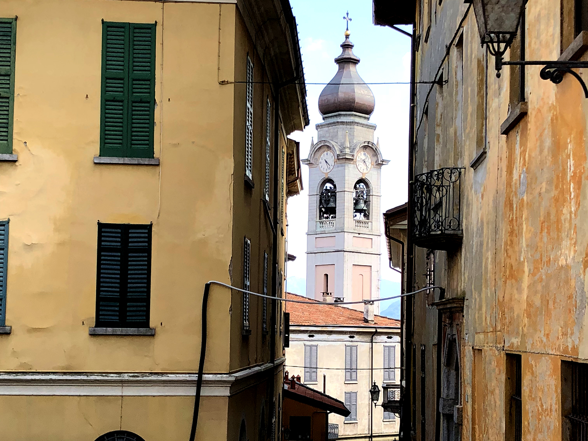 Church of Menaggio town, Lake Como Italy