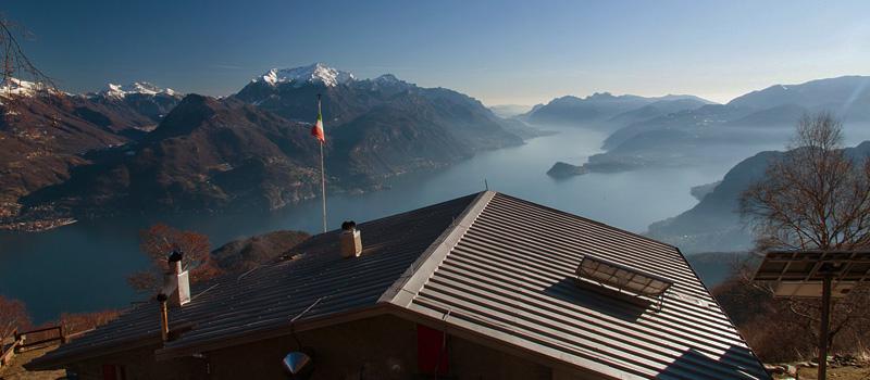 Lake Como Hiking Rifugio Menaggio & more