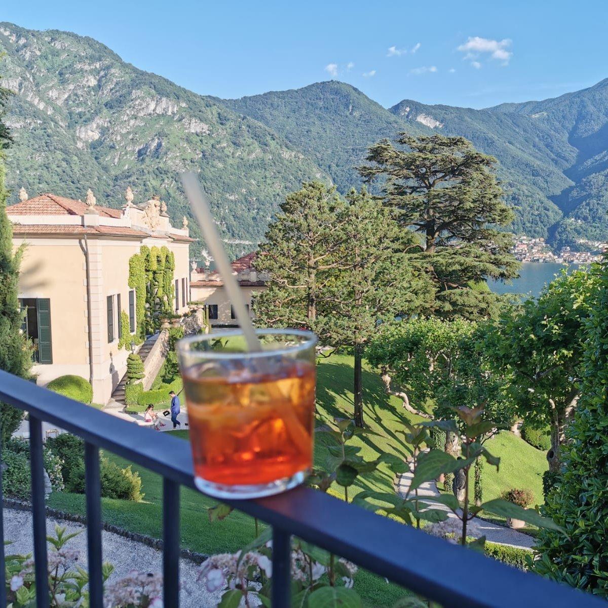 Lake Como summer events_Aperitivo at Villa Balbianello