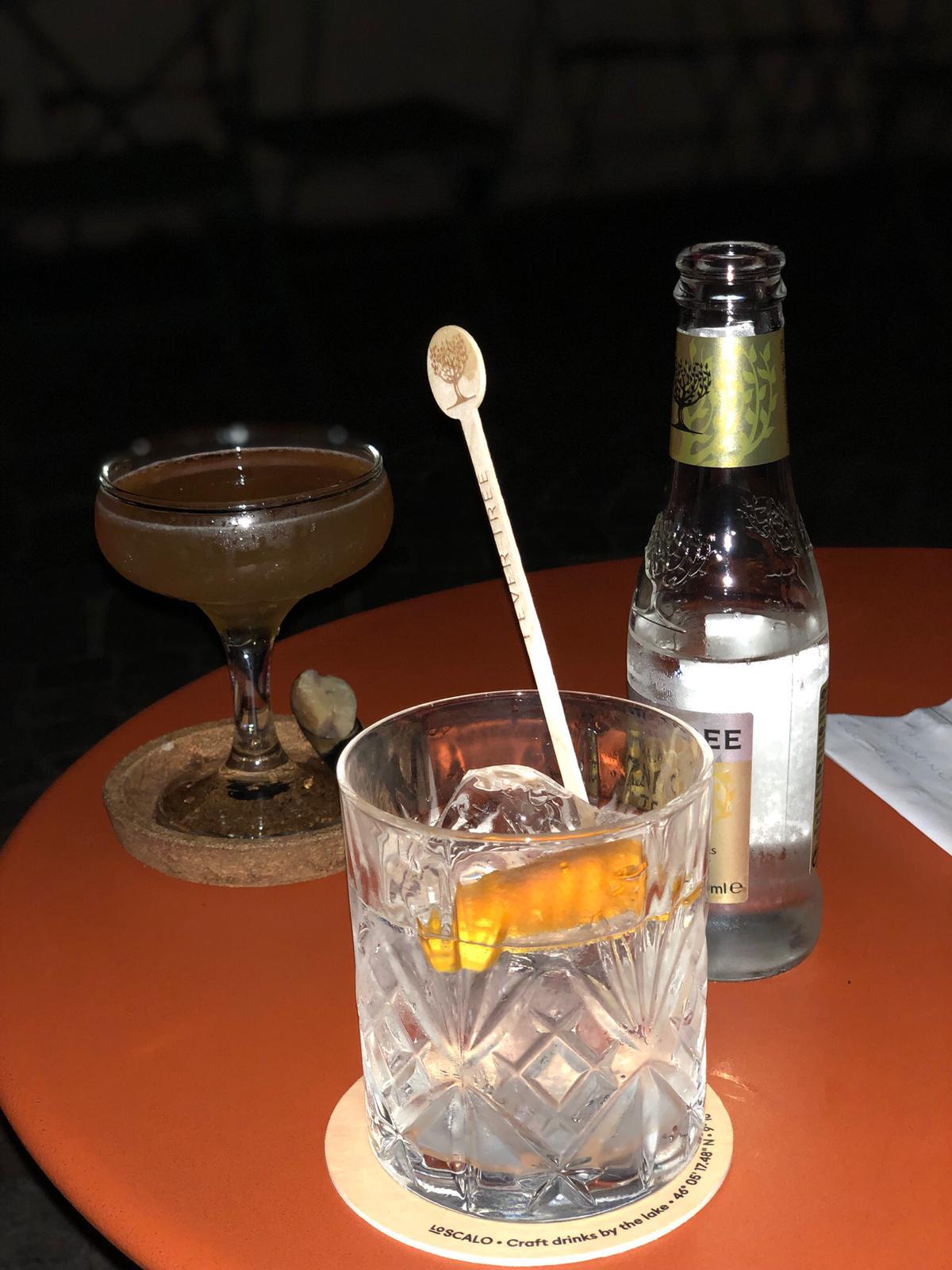 Como Lake cocktail week- cocktail at SCALO